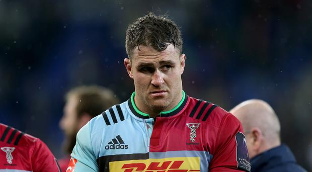 James Horwill has signed a contract extension with Harlequins