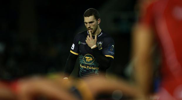 George North has been knocked out five times in his career