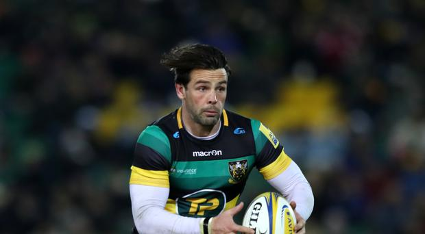 Ben Foden scored Northampton's first try against Sale
