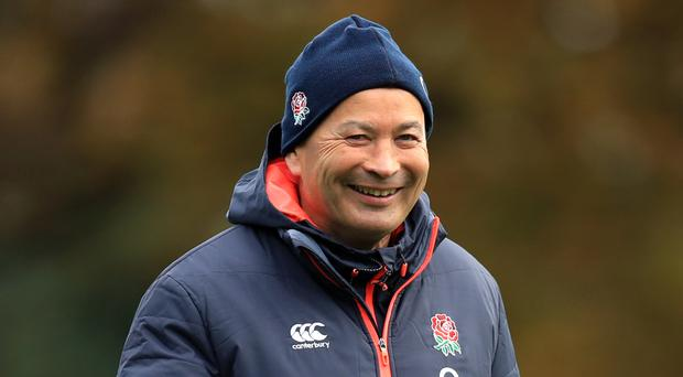 Eddie Jones has his sights set on the 2019 World Cup