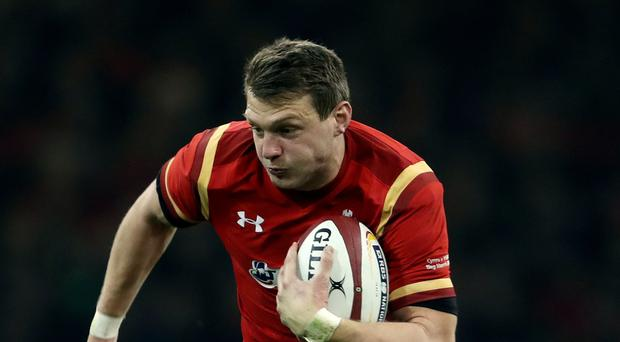 Dan Biggar kicked four penalties and a conversion for the Ospreys