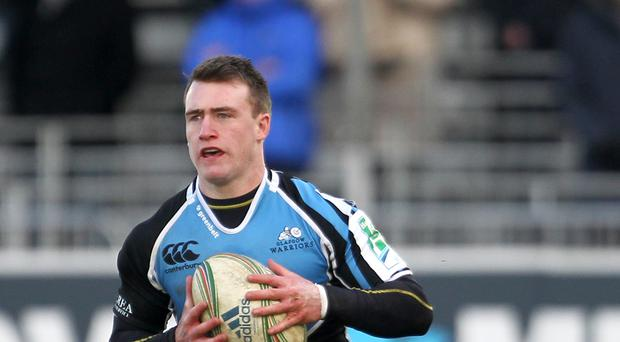 Stuart Hogg will play at fly-half for Glasgow Warriors on Saturday