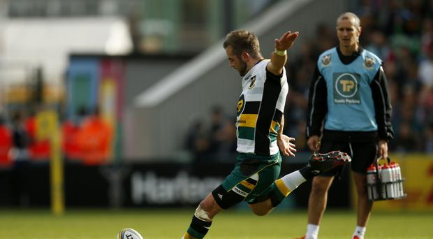 Northampton's Stephen Myler helped them to victory at Gloucester.