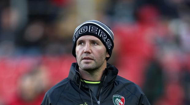 Aaron Mauger has been placed in interim charge at Leicester