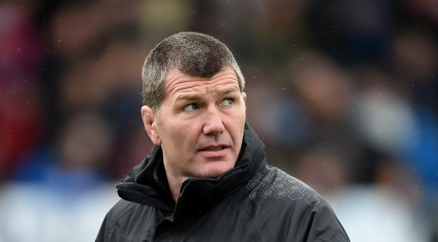 Exeter head coach Rob Baxter takes his team to Aviva Premiership champions Saracens on Saturday