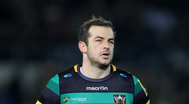 Stephen Myler kicked 12 points for Northampton