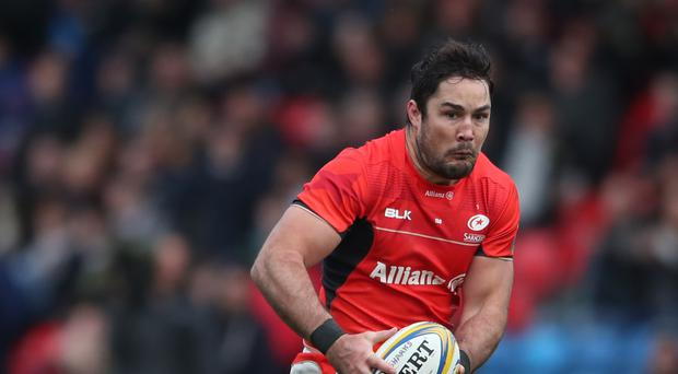 Brad Barritt could be in trouble for a high tackle on Geoff Parling