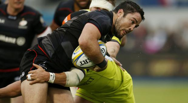 Saracens captain Brad Barritt has been disciplined by the RFU