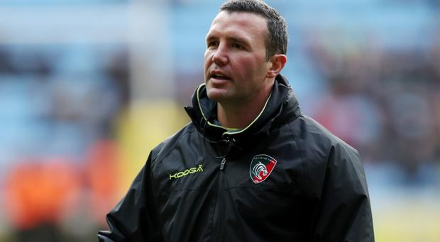 Leicester coach Aaron Mauger saw his side's hopes of Champions Cup progression ended