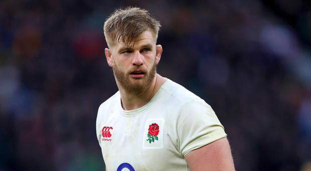 George Kruis is set to return from injury to give England a boost