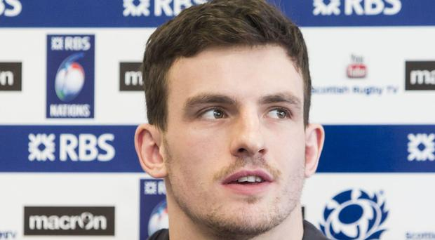 Matt Scott has been handed a Scotland recall with a place in the RBS 6 Nations Championship squad