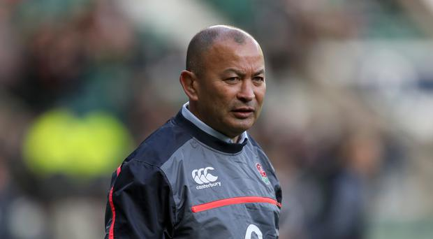 Eddie Jones, pictured, will not pick Sam Underhill in England's Six Nations squad