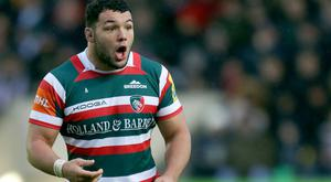 Leicester prop Ellis Genge has been recalled by England
