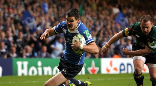 Leinster's Jonny Sexton could be a doubt for the start of Ireland's RBS 6 Nations campaign