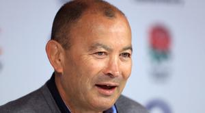 Eddie Jones, pictured, has added Dr Sherylle Calder to England's backroom staff
