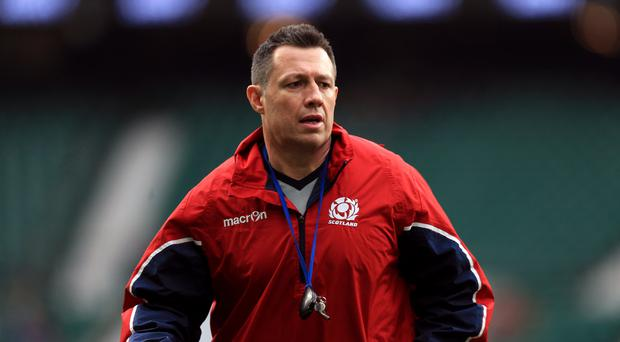 Defence coach Matt Taylor is preparing Scotland for the possibility of having players sent off