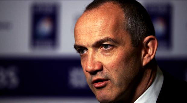 Conor O'Shea is preparing for his first Six Nations as Italy coach