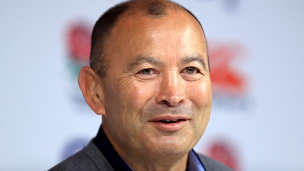 England coach Eddie Jones hopes for a successful pursuit of another Grand Slam.