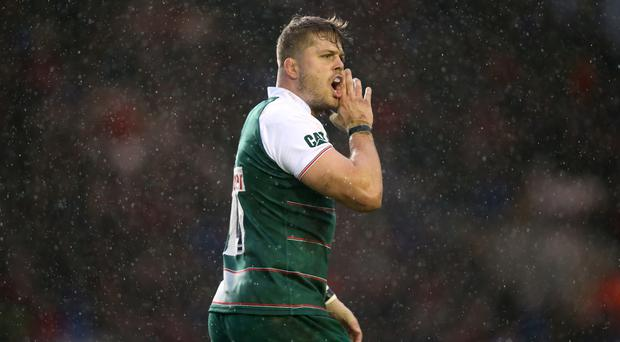 Leicester forward Ed Slater has received a two-week suspension