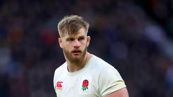 England are waiting to see whether George Kruis will be available for Saturday's match at Twickenham