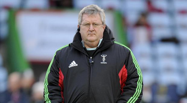 John Kingston's Harlequins suffered a home defeat to Sale