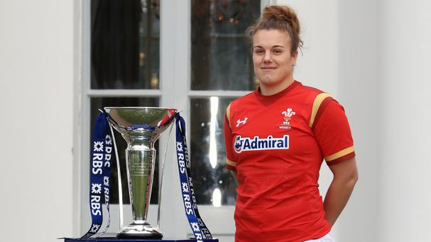 Wales captain Carys Phillips scored the visitors' third try against Italy