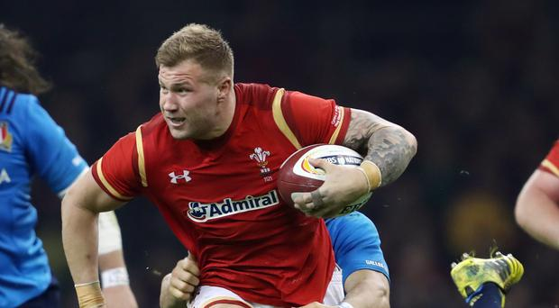 Wales number eight Ross Moriarty, pictured, is relishing lining up against Italy captain Sergio Parisse on Sunday