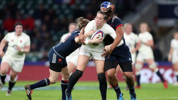 Emily Scarratt led England's revival at Twickenham