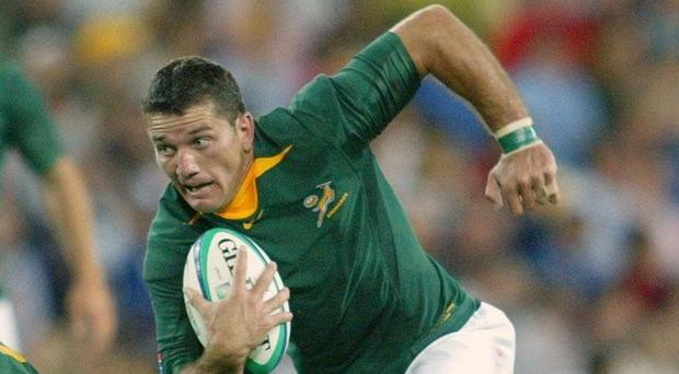 Joost van der Westhuizen is a South Africa rugby great