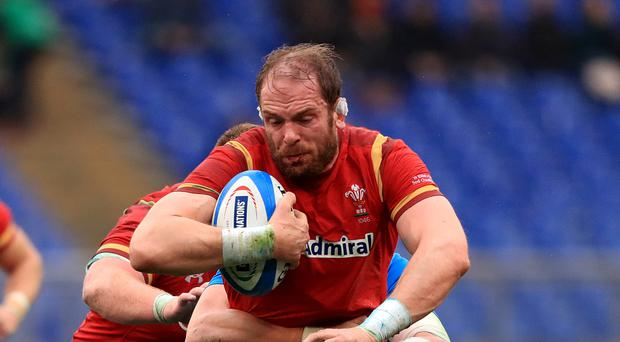 Wales' Alun Wyn Jones praised his side