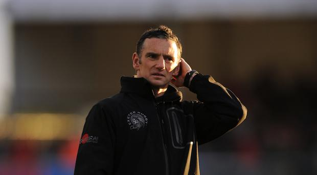 Ricky Pellow saw Exeter earn a bonus-point win