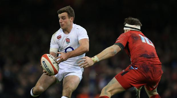 George Ford is looking forward to this weekend's clash against Wales