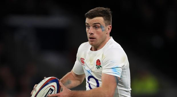 Sale boss Steve Diamind believes England fly-half George Ford, pictured, will rejoin Leicester