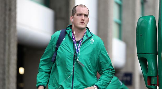 Ireland's Devin Toner is a threat to Italy