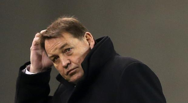 Steve Hansen says he cannot believe the decision to charge a man who worked for New Zealand as a security consultant with public mischief