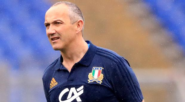Conor O'Shea, pictured, can revitalise Italy, according to Danny Care