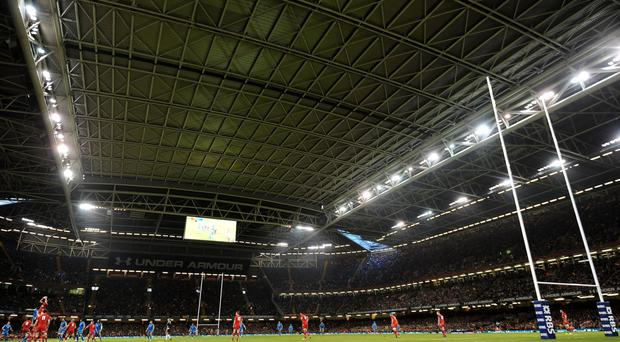 The retractable roof at the Principality Stadium will not be used for visit of England