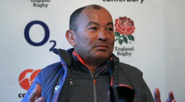 Eddie Jones' England travel to Wales at the weekend