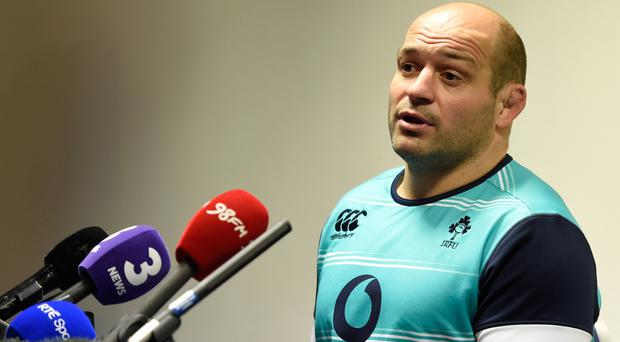 Rory Best is a fitness doubt for Ireland