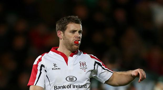 Darren Cave scored one of Ulster's tries