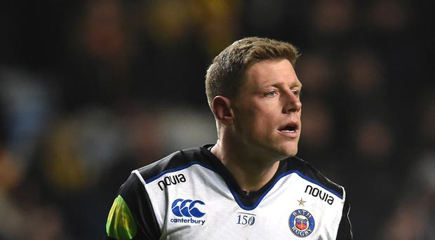 Rhys Priestland's late penalty earned Bath victory