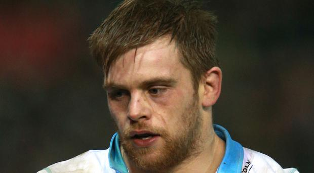 Glasgow's Pat MacArthur scored a try but finished on the losing side