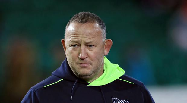 Sale Sharks head coach Steve Diamond saw his sidebeat Newcastle Falcons