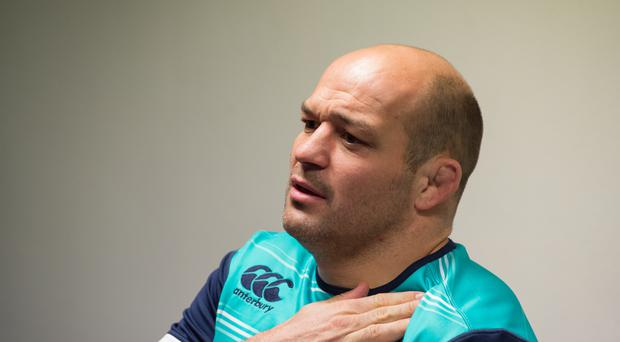 Rory Best misses the match in Italy due to a stomach bug