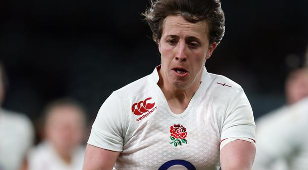Katy McLean was among the try-scorers as England Women ran Wales ragged in Cardiff