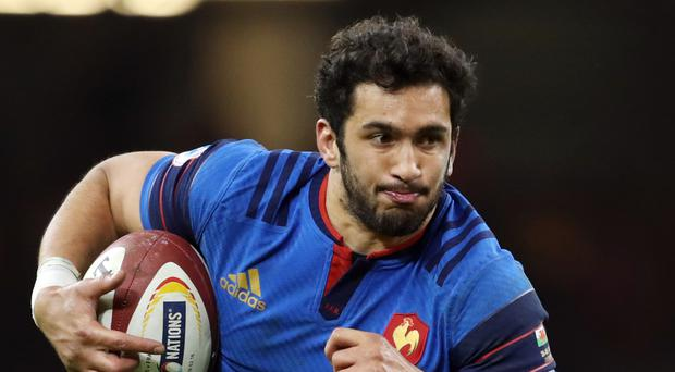 Maxime Mermoz, shown here playing for France, scored for Leicester as they beat Gloucester