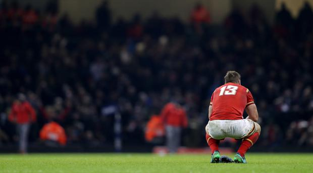 Welsh hearts were broken by defeat to England