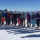 Friends' pupils on their ski trip