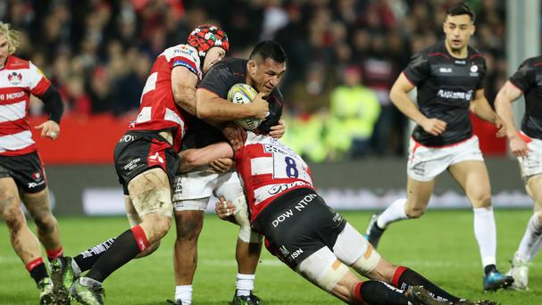 Saracens' Mako Vunipola returned to action