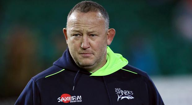 Steve Diamond, pictured, was delighted with Denny Solomona's first-half treble against Wasps